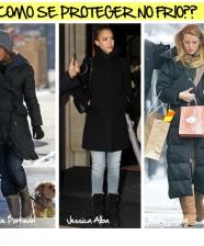Como se vestir no frio?