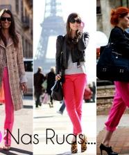 Vamos de calça pink?