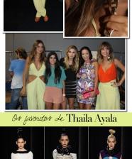Thaila Ayala no desfile da Filhas de Gaia