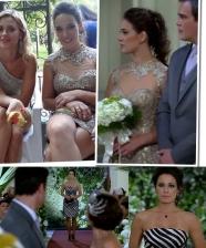 O vestido de Patrícia e Zuleika em Fina Estampa