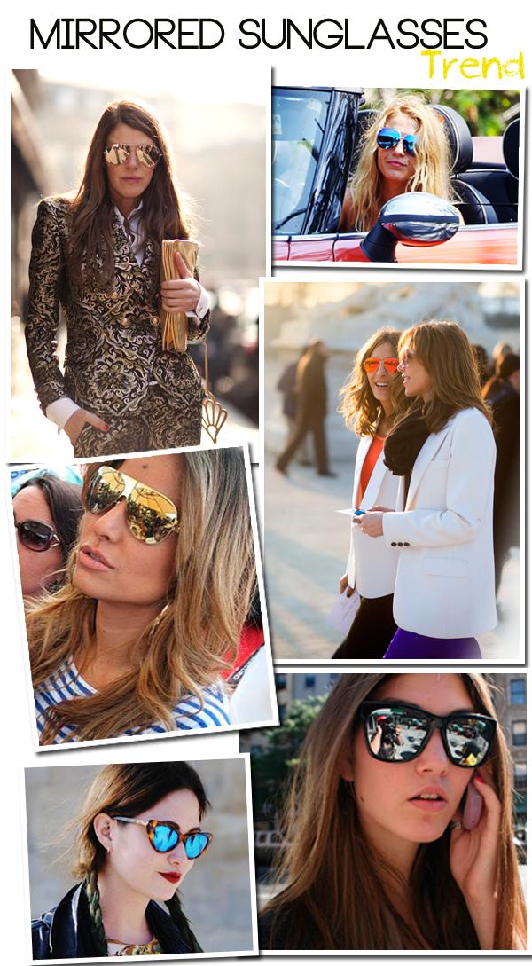 Trend  Óculos Espelhados - Lalá Noleto 2f580d22f1