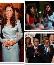 O look de Kate Middleton na abertura das Olimpíadas