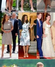 Kate Middleton pela Ásia