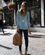 Look do Dia – Jeans + Jeans