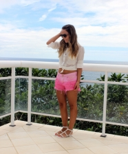 Look do Dia – Short Pink