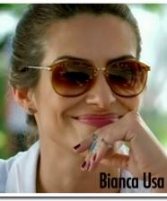 Os óculos de Bianca em Salve Jorge