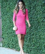 <!--:pt-->Look do Dia – Vestido de Tricô Pink<!--:-->