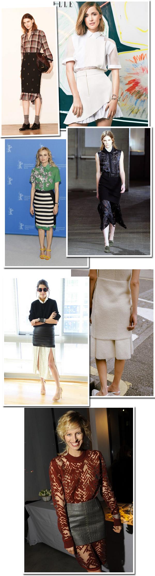 moda-look-tendencia-camisa-longa-saia