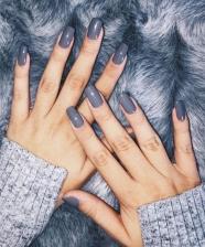 Esmaltes de inverno: cinza, marsala e nude