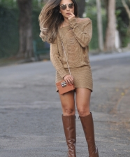 <!--:pt-->Look do Dia – Pullover Dress de Tricô <!--:-->