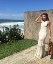 Look do Dia – Longo de Tricô