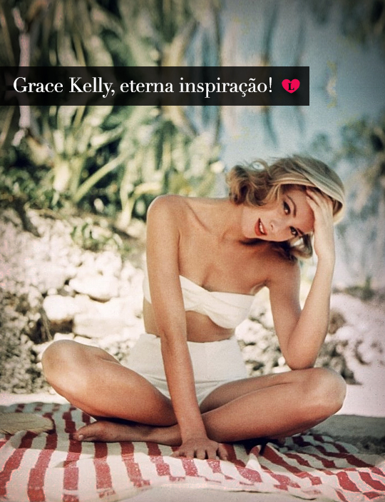 grace kelly cintura alta