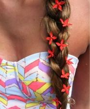 Carnaval com flores no cabelo – ideias criativas