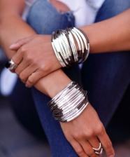 Como usar: braceletes tipo cuffs