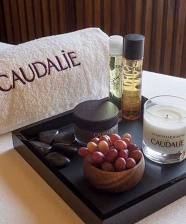 Sala de Spa Caudalie no Hotel Unique