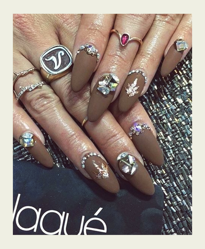 Vanessa Hudgens nails coachella