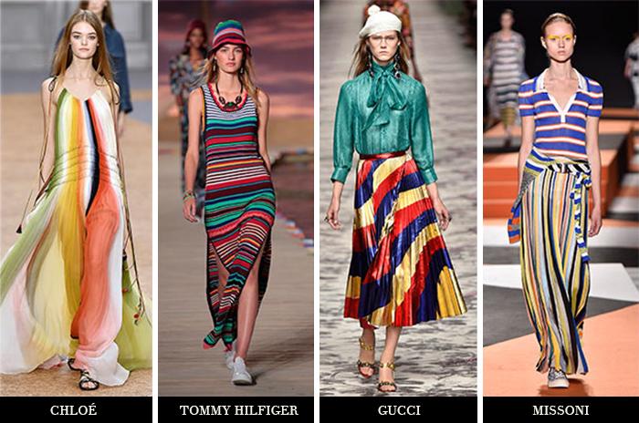 trend listras coloridas