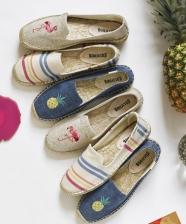 Summer trend 2016 – Espadrilles bordadas