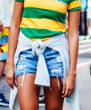 Verde e amarelo – ideias de looks para torcer pro Brasil!