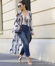 Look do dia: Robe Silk Plissê em Paris