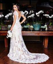 Vestido de noiva: Noiva nas nuvens