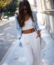 10 ideias de looks incríveis de verão com pantalonas