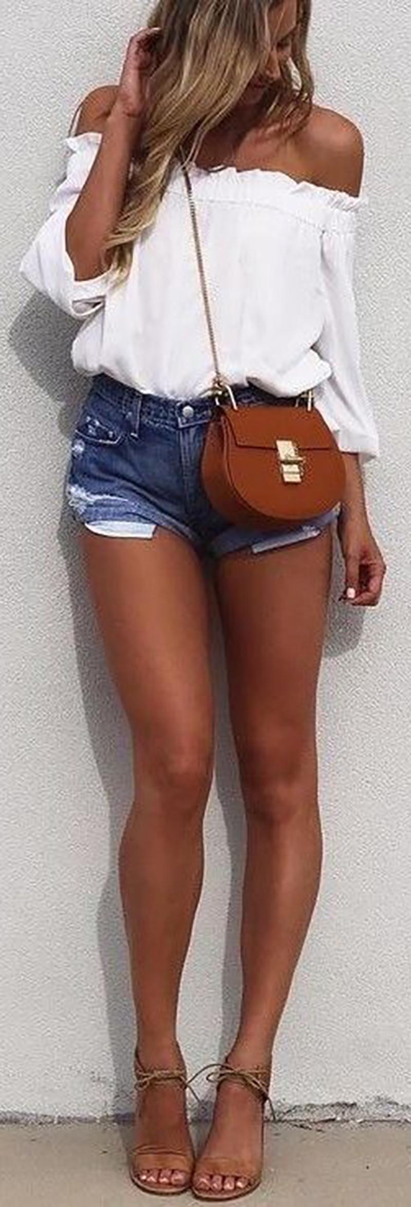 8acca65b3 Looks com shorts jeans para usar no carnaval - Lalá Noleto