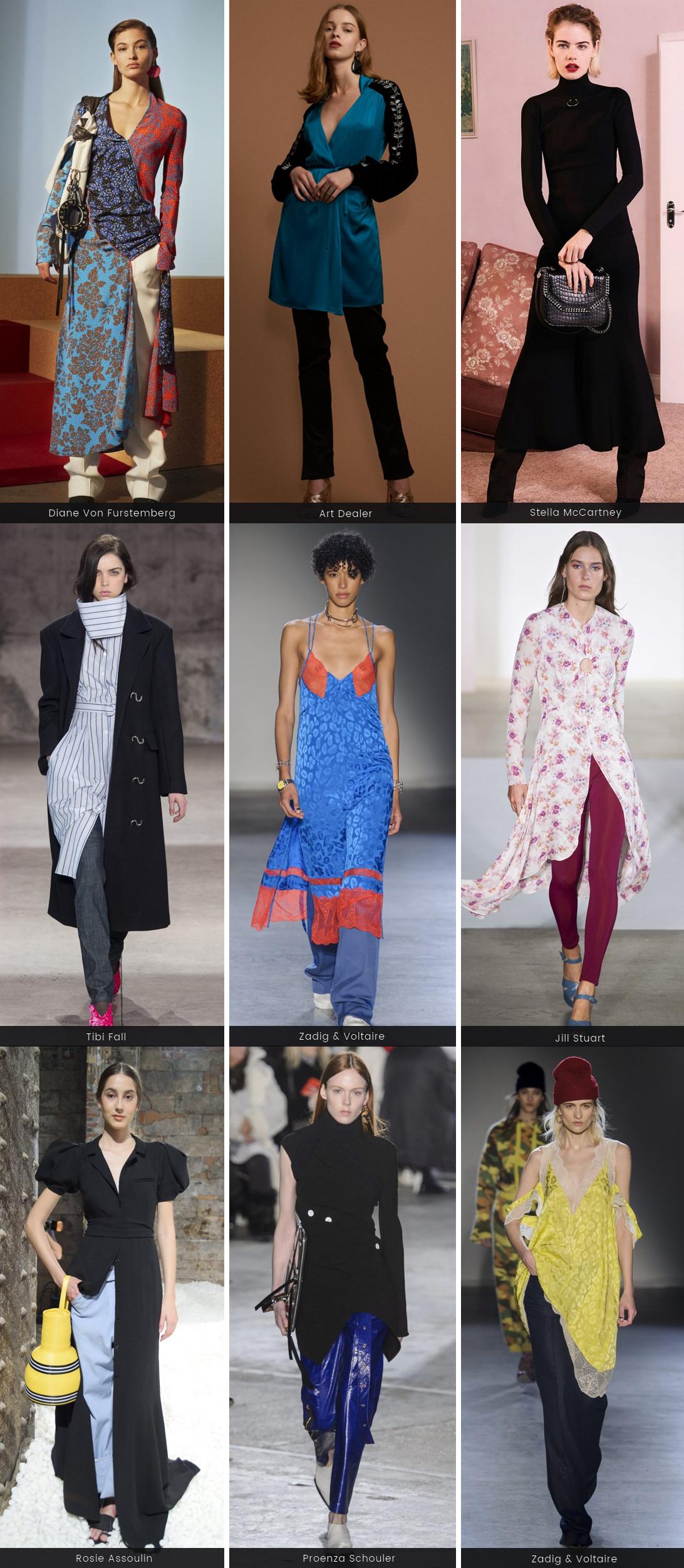 tendência vestido com calça