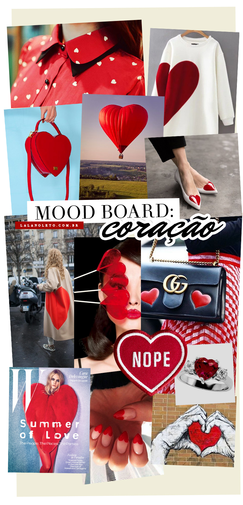 red heart fashion coração vermelho