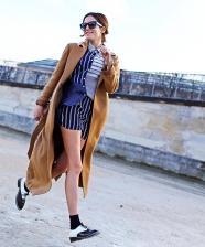 Looks incríveis com Camel Coat para usar neste inverno