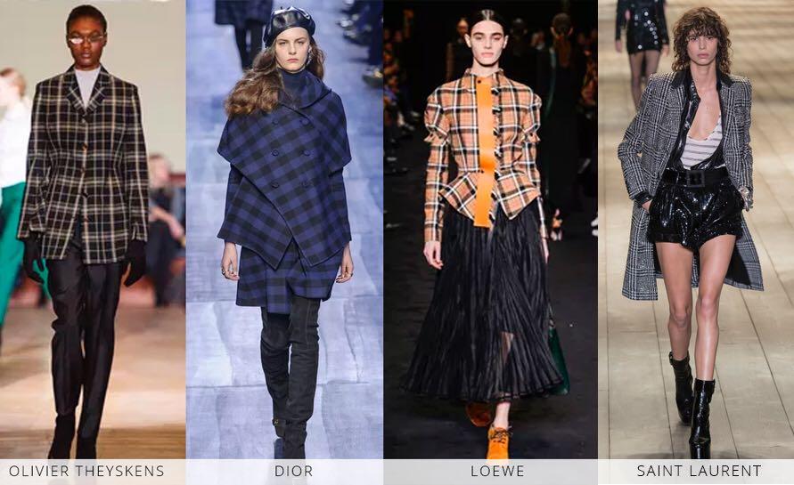 618c5d0bd A semana de moda de Paris trouxe uma amostra de como os diferentes tipos de  xadrez continuam se reiventando e encantando. Dior