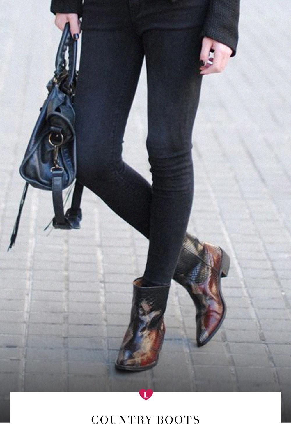 a67c3f8217 Tendência  como usar bota country - Lalá Noleto