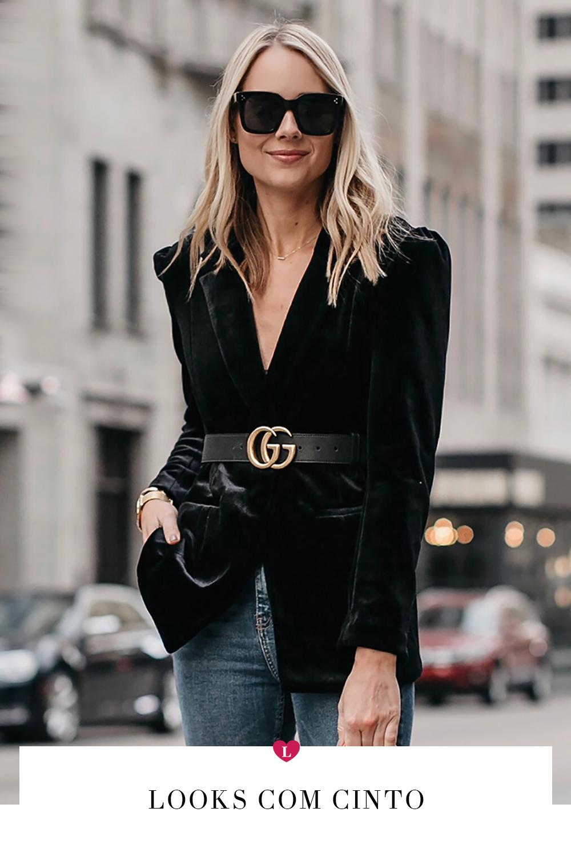 5572ef31f353a Gucci belt fever – Looks com cinto para aderir à trend! A Gucci por si só  já é a grife mais cool do momento