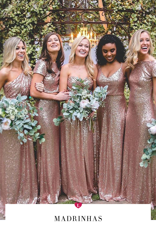 casamento lindas inspirações para looks de madrinhas com vestidos