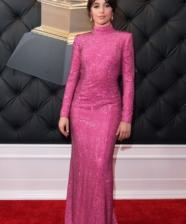 O rosa foi a cor sensação do red carpet dos Grammy 2019