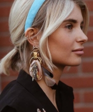Microtrend alert: Prada padded headbands