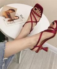 Tendência calçados 2019: ponta quadrada