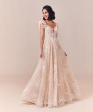 Tendência bridal 2020: vestido de noiva nude